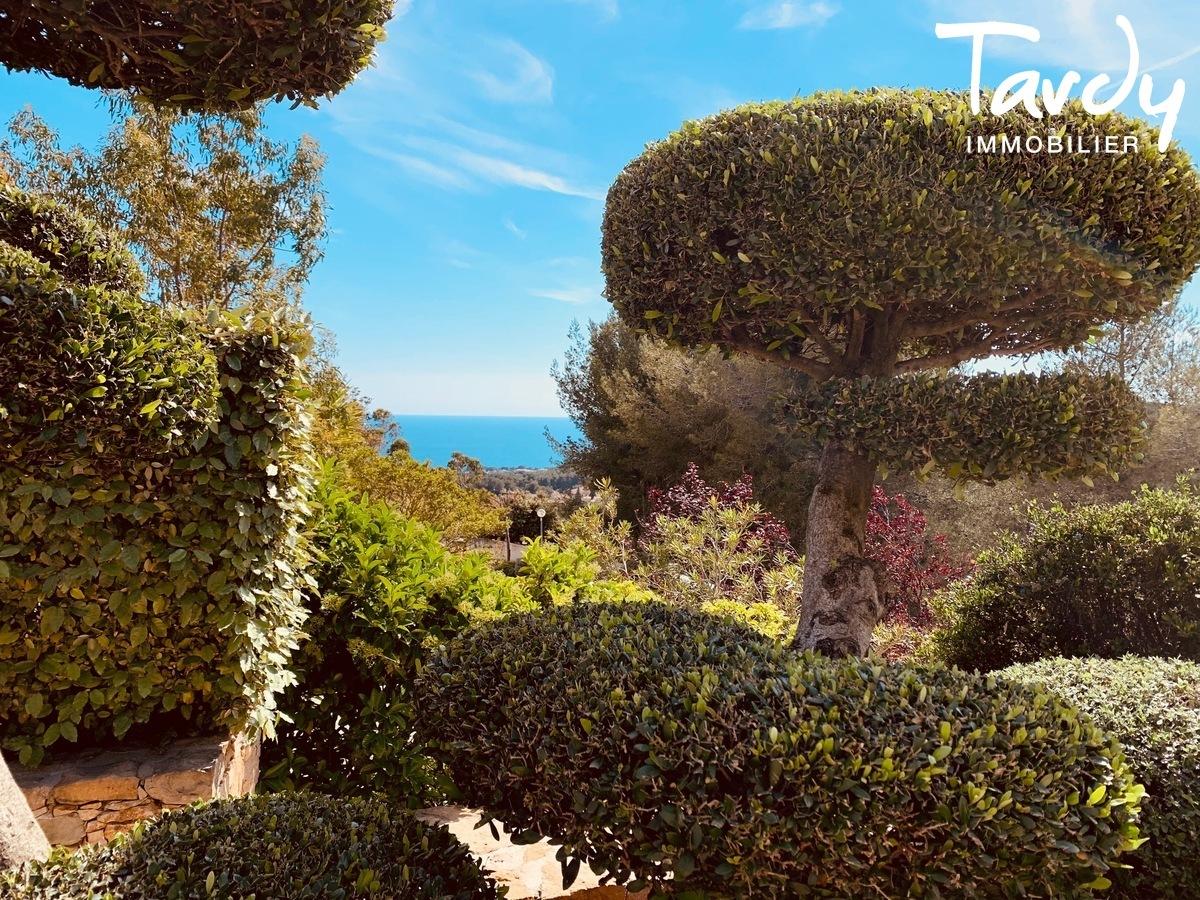 Grande villa avec vue - La garduère  Bandol 83150 - Bandol - Maison avec jardin vue mer Bandol