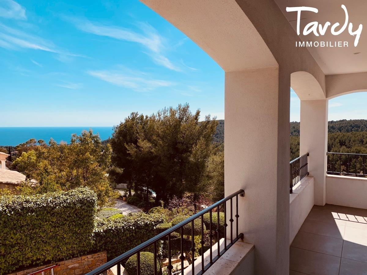 Grande villa avec vue - La garduère  Bandol 83150 - Bandol - Terrasse vue mer Bandol