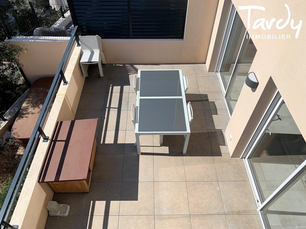Appartement NEUF Contemporain - comme une villa - Bandol 83150  - Bandol - Grande Terrasse