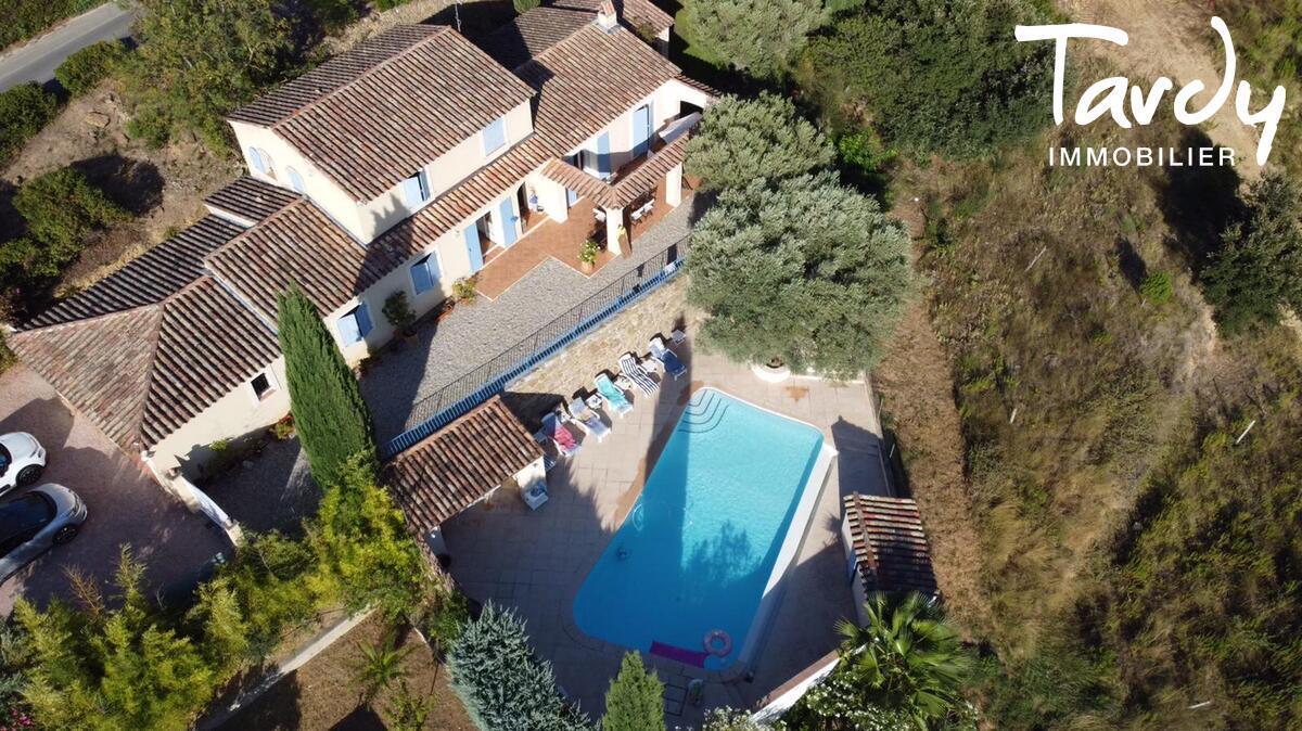 Villa plein sud  entre terre et mer  - Le Castellet
