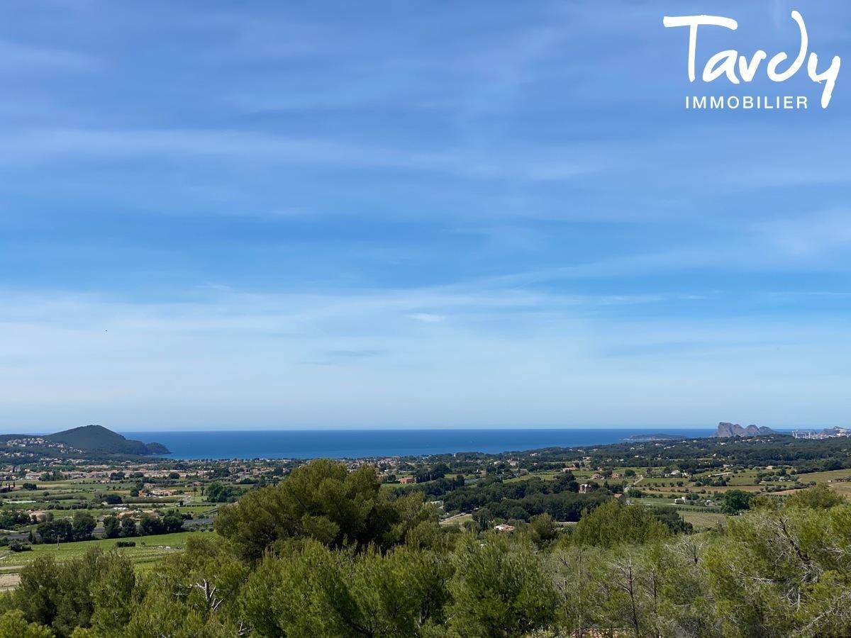 Villa récente, vue panoramique mer et campagne - 83740 LA CADIERE D'AZUR - La Cadière-d'Azur