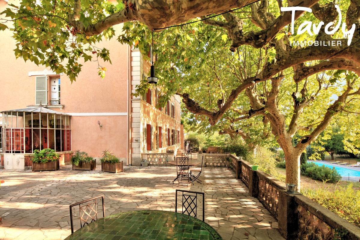 Propriété au calme sur 3,2  hectares - 83510 LORGUES - Lorgues - Manor house with large plot for sale