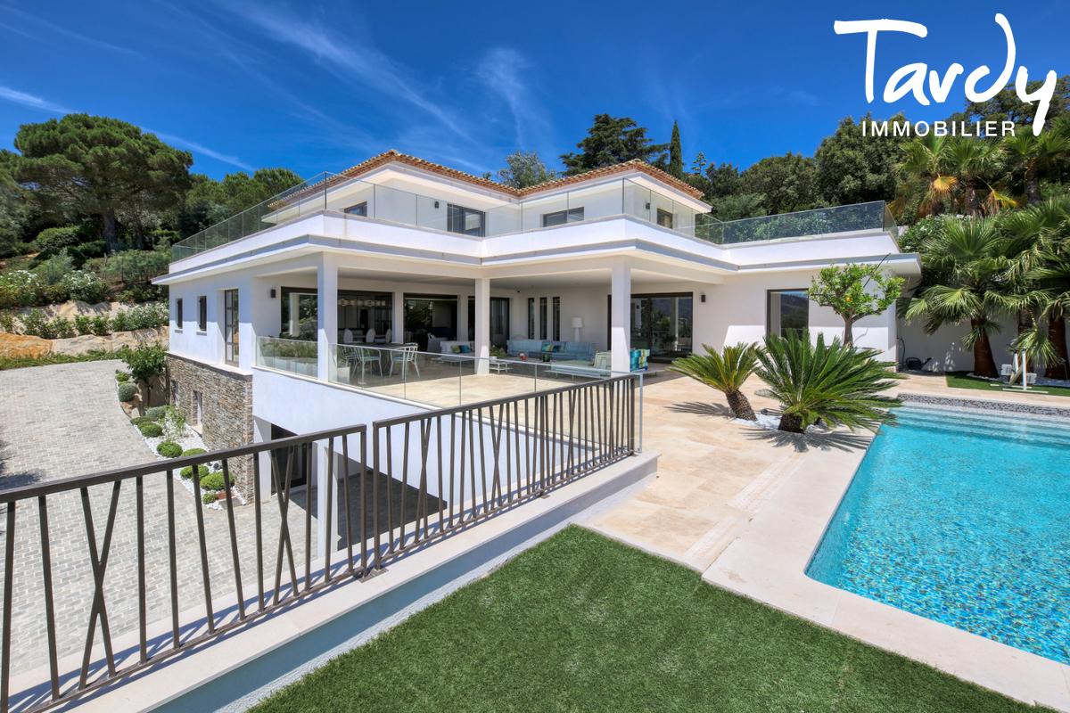 Villa  neuve contemporaine vue mer 83380 LES ISSAMBRES - Les Issambres - Tardy Luxury real estate