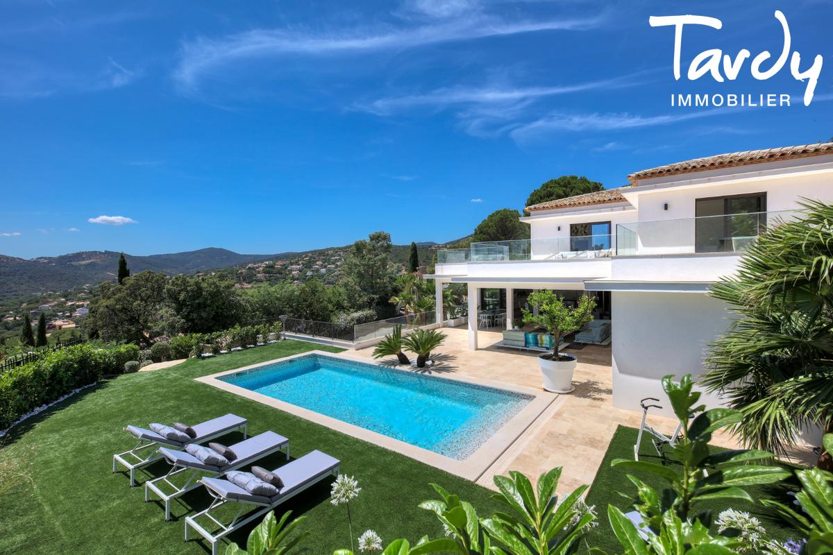 Villa  neuve contemporaine vue mer 83380 LES ISSAMBRES - Les Issambres - Immobilier de luxe sainte maxime