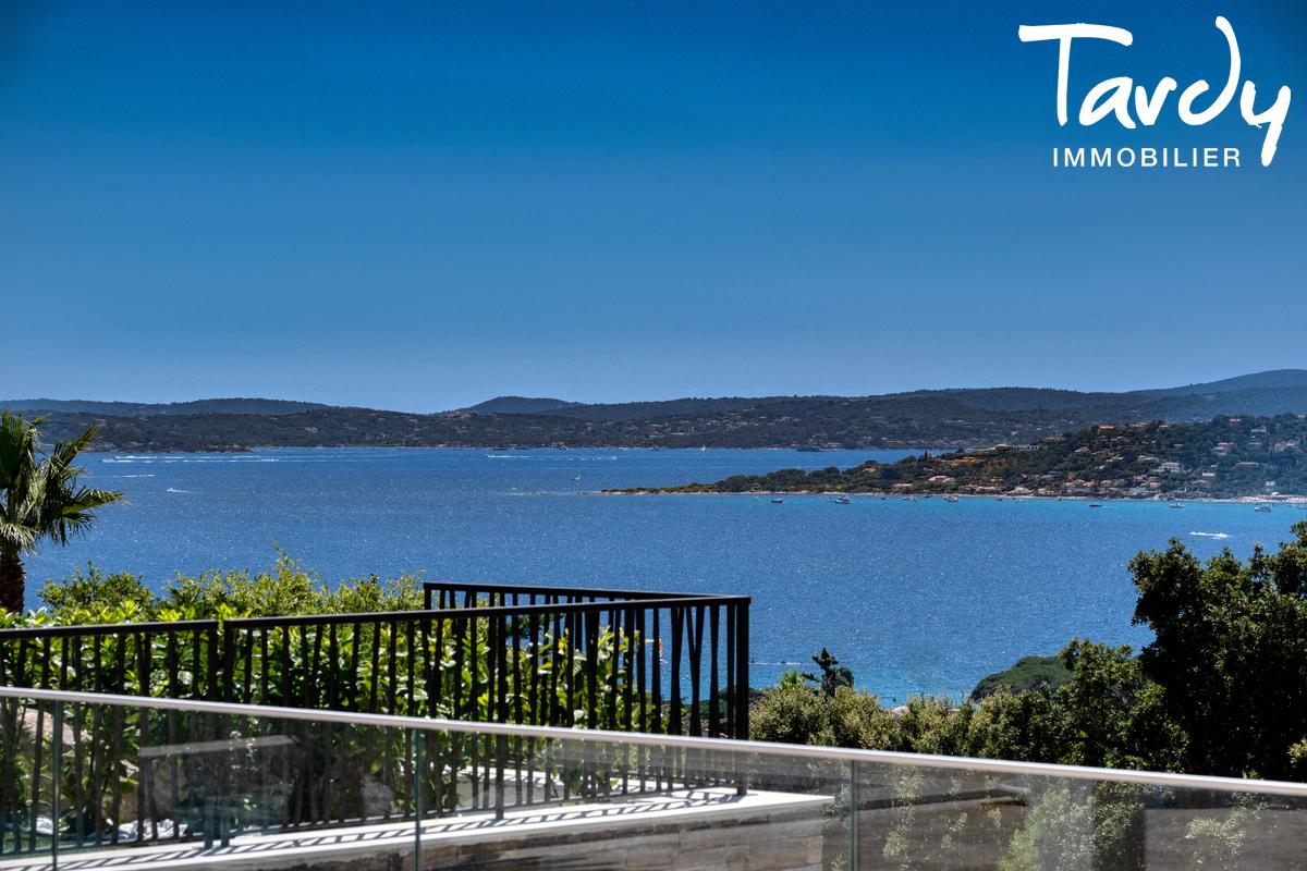 Villa  neuve contemporaine vue mer 83380 LES ISSAMBRES - Les Issambres - Villa d'architacte à vendre Saint Tropez