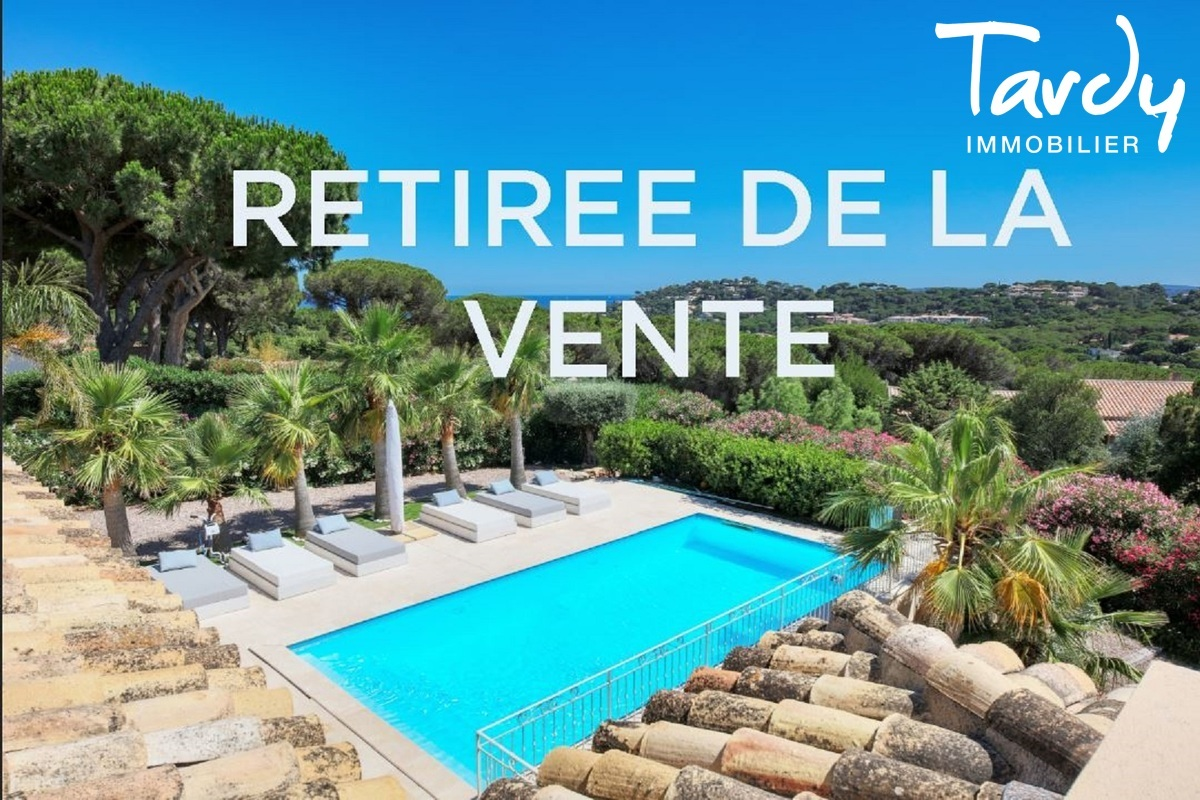 Villa récente dans domaine sécurisé- 83120 SAINTE MAXIME - Sainte-Maxime - luxury real estate ste maxime