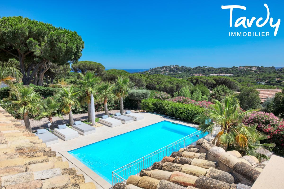 Villa récente dans domaine sécurisé- 83120 SAINTE MAXIME - Sainte-Maxime - villa saint tropez var piscine