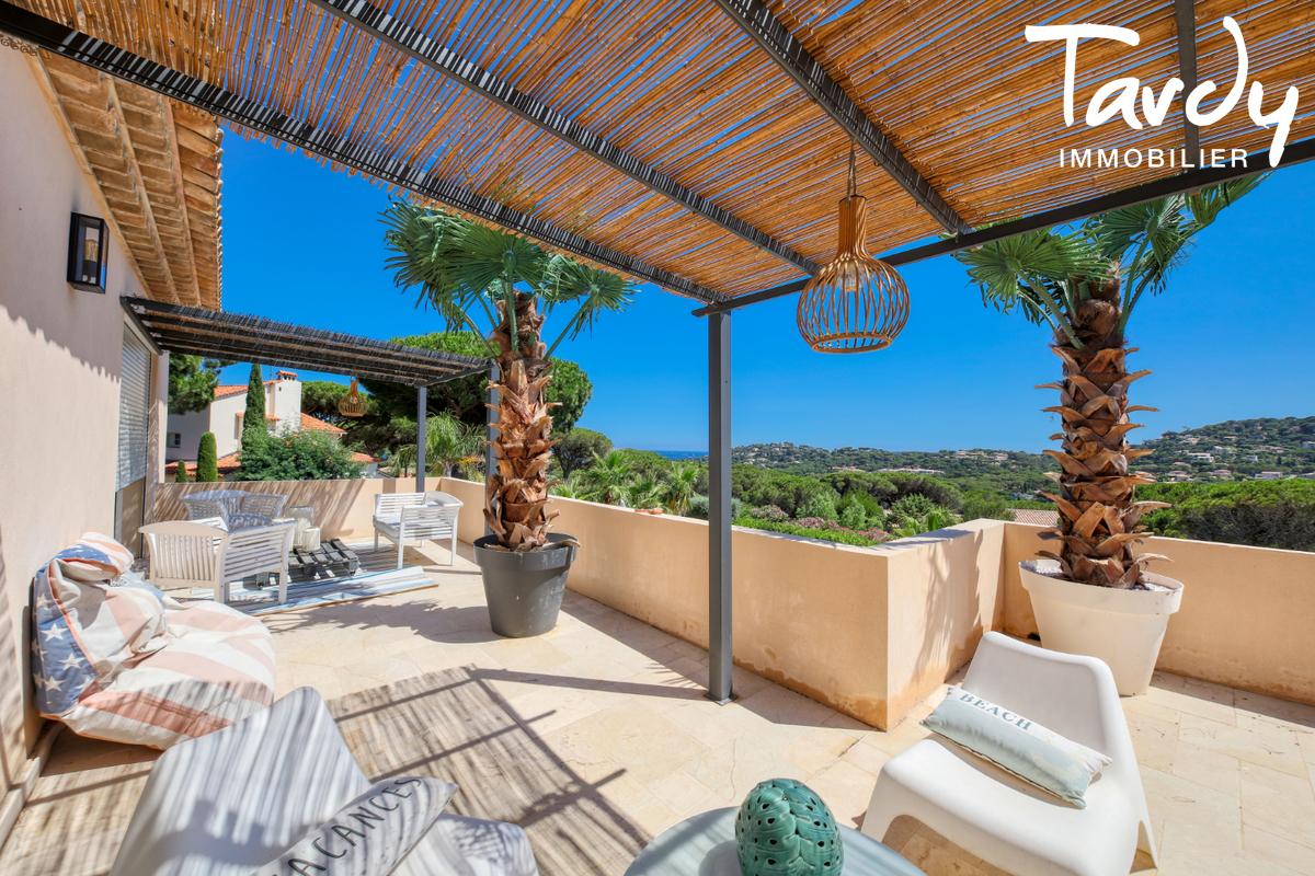 Villa récente dans domaine sécurisé- 83120 SAINTE MAXIME - Sainte-Maxime - Villa mit Meerblick Côte d'Azur