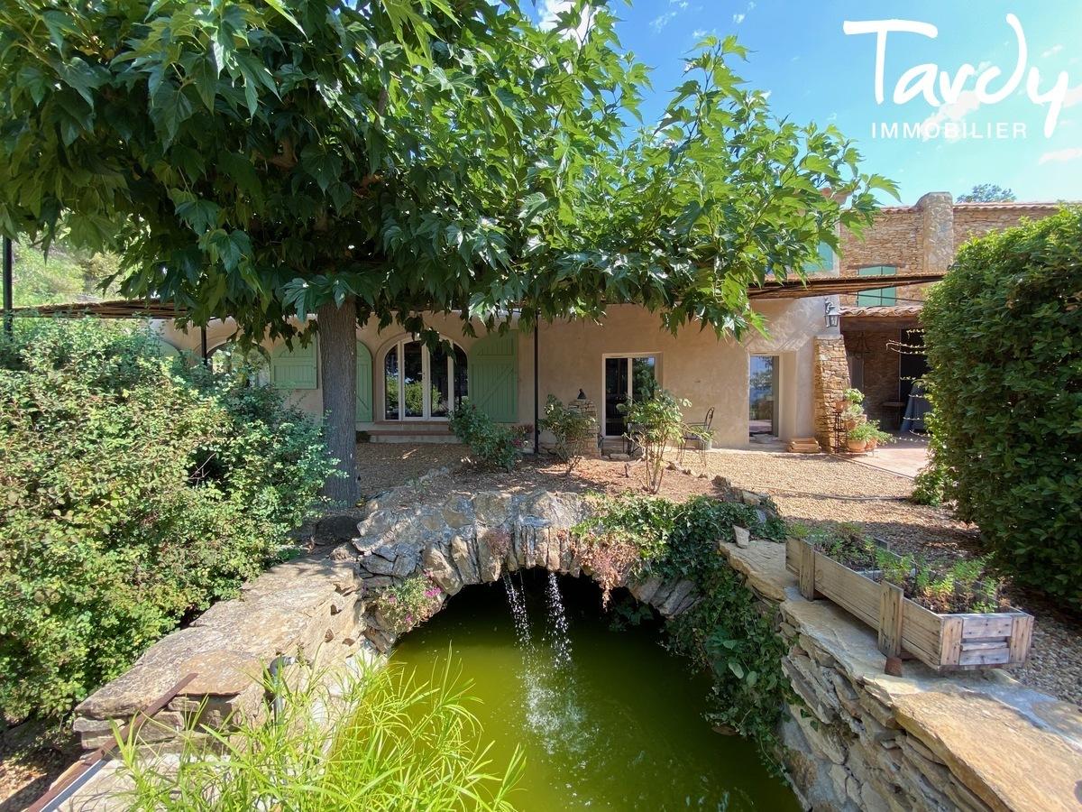 Mas en pierre rénové, campagne et calme absolu - 83740 LA CADIERE D'AZUR - La Cadière-d'Azur - TARDY IMMOBILIER