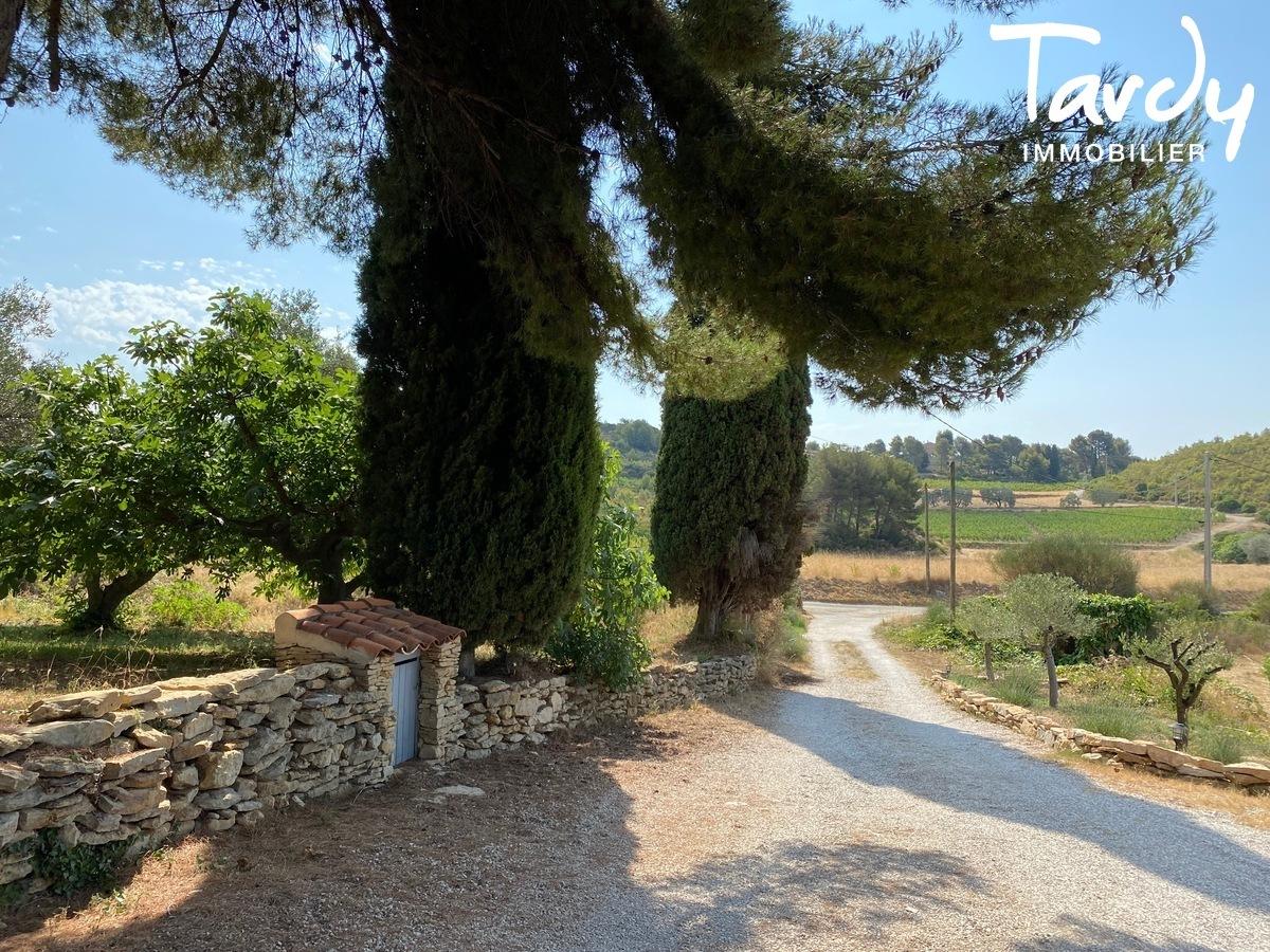Mas en pierre rénové, campagne et calme absolu - 83740 LA CADIERE D'AZUR - La Cadière-d'Azur