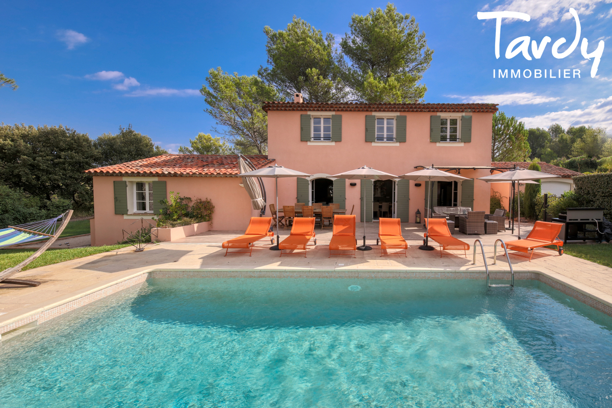 Maison dans domaine de Golf sécurisé  - 83920 - LA MOTTE - La Motte - Charles Tardy Immobilier