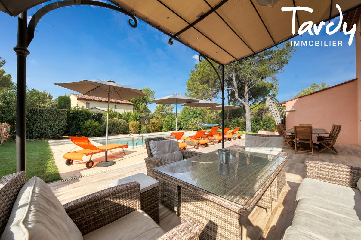 Maison dans domaine de Golf sécurisé  - 83920 - LA MOTTE - La Motte - villa à vendre Golf Saint Endréol