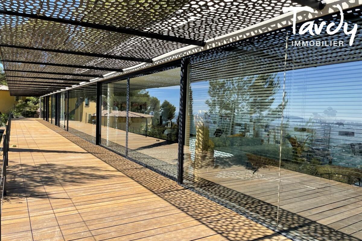 Contemporaine d'architecte vue mer - Le Baou - 83200 TOULON - Toulon - Villa d'architecte Toulon