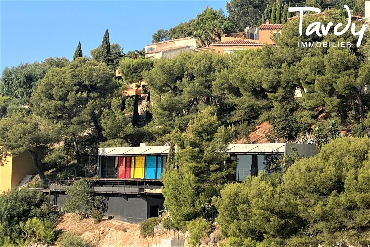 Contemporaine d'architecte vue mer - Le Baou - 83200 TOULON - Toulon - Villa d'architecte Var