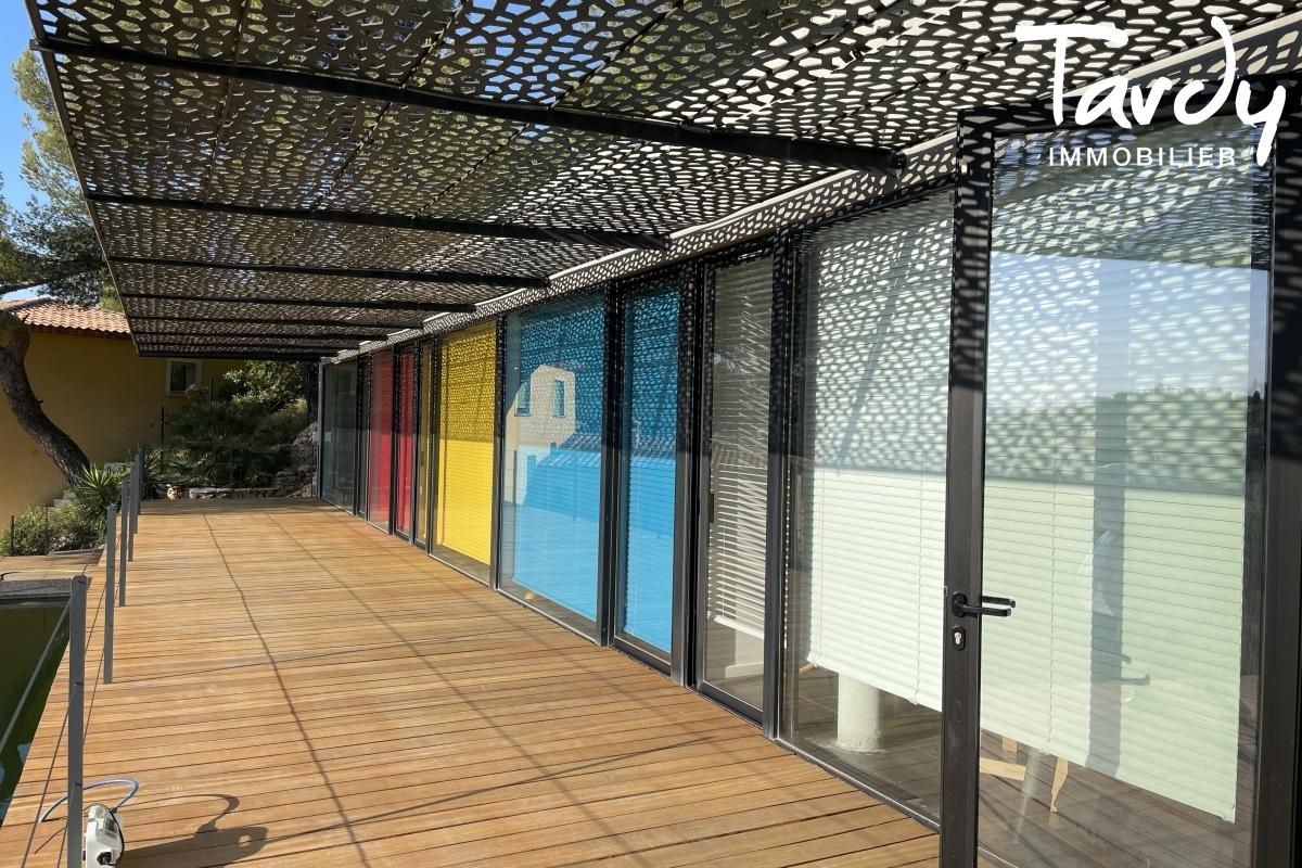 Contemporaine d'architecte vue mer - Le Baou - 83200 TOULON - Toulon - Villa Rudy Ricciotti