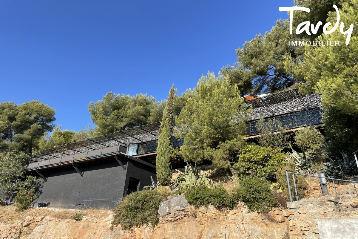 Contemporaine d'architecte vue mer - Le Baou - 83200 TOULON - Toulon - Contemporaine Var