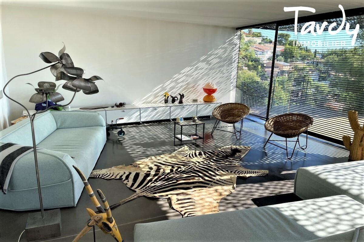 Contemporaine d'architecte vue mer - Le Baou - 83200 TOULON - Toulon - Villa de designer Côte d'azur