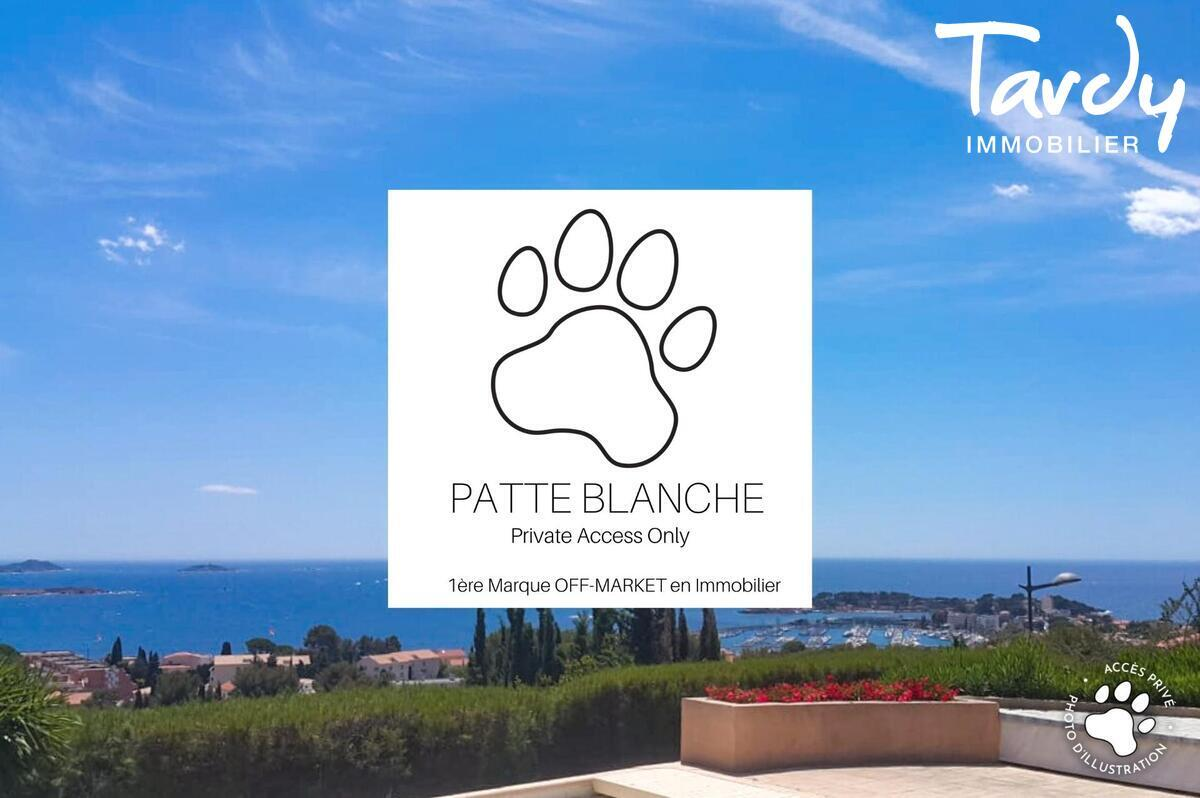 Vue mer panoramique, villa familiale - 83150 Bandol - Bandol - Tardy Patte Blanche Bandol vue mer