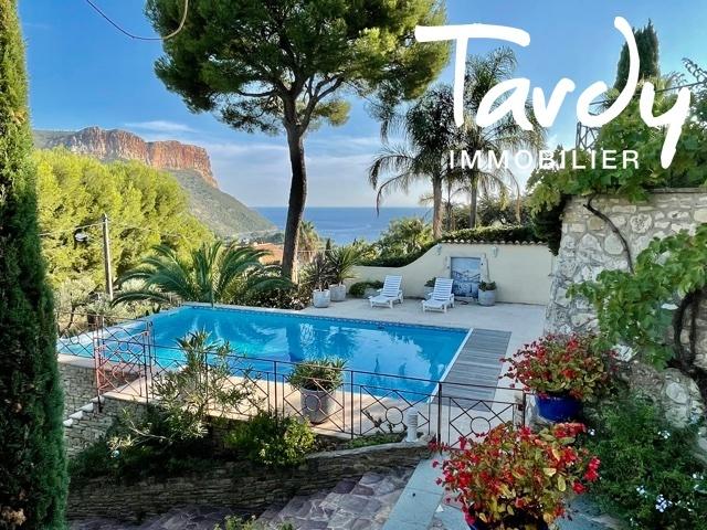 Villa Vue mer et Cap Canaille - 13260 Cassis - Cassis