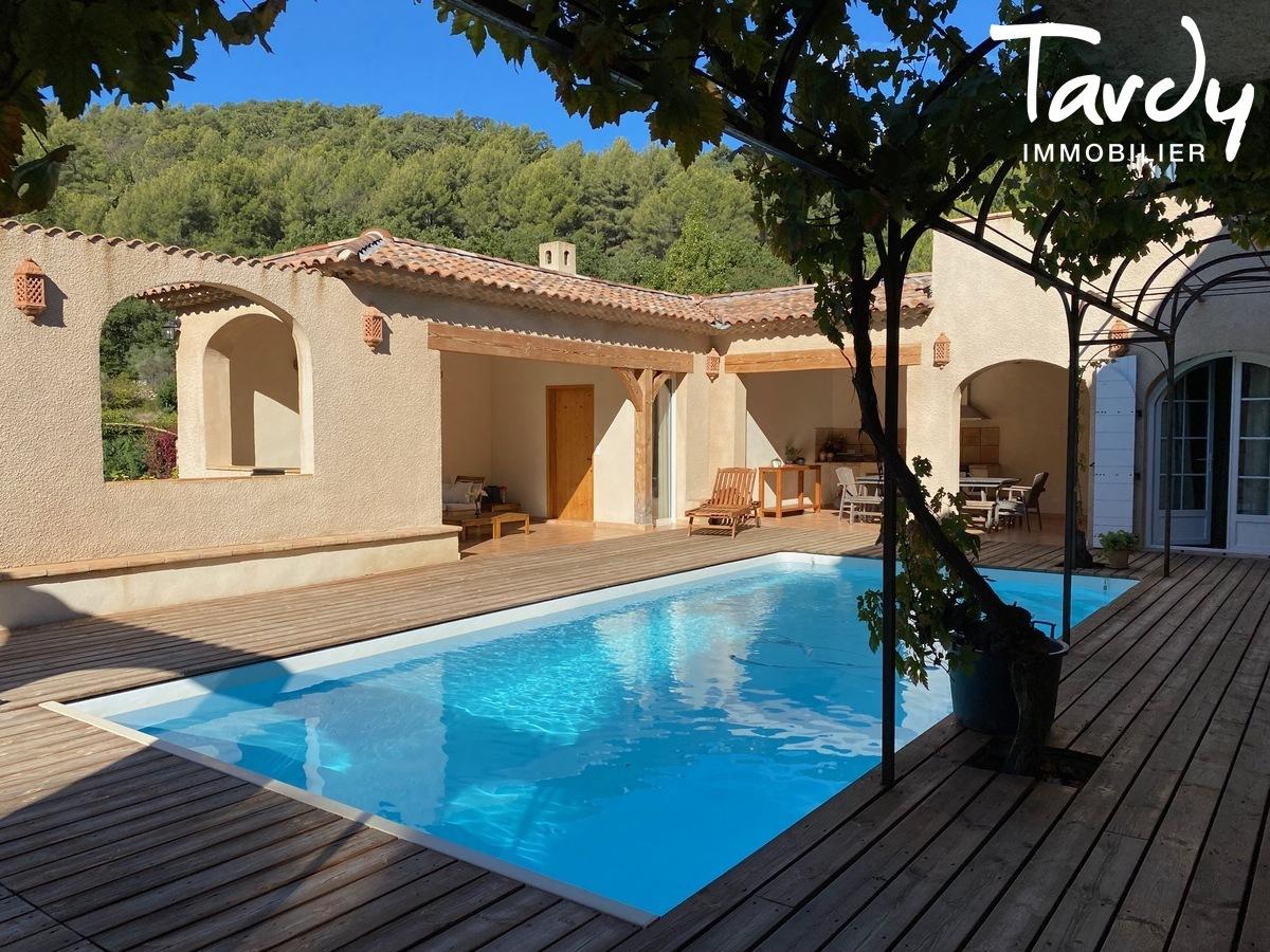 Villa 7 chambres, campagne Provençale  - 83330 EVENOS - Évenos - NOUVEAUTE TARDY IMMOBILIER